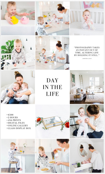 Day in the Life Session by Tifani Lyn Photography
