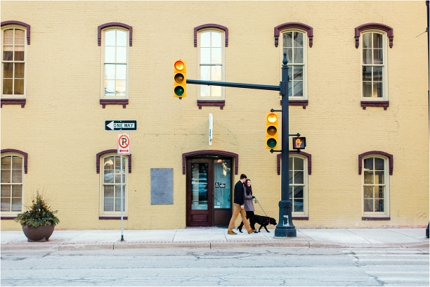 Grand Rapids Engagement Session Travis Kate at Madcap Coffee by Tifani Lyn Photography_0001