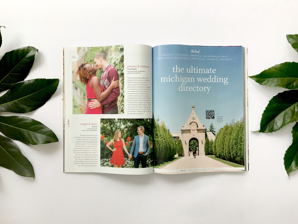 TIFANI LYN PHOTOGRAPHY FEATURED IN THE KNOT MICHIGAN