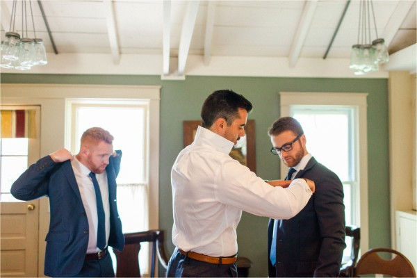 Journeyman Distillery Wedding by Tifani Lyn Photography // Getting Ready