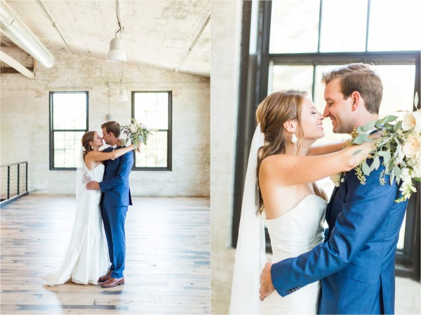 Journeyman Distillery Wedding by Tifani Lyn Photography // Bride & Groom Portraits