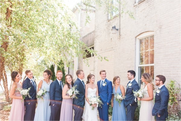Journeyman Distillery Wedding by Tifani Lyn Photography // Wedding Party
