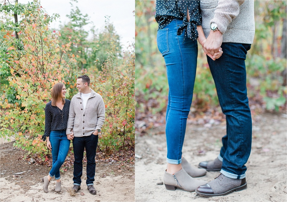Grand Rapids wedding photographer tifani lyn brandon and claire engagement_0002