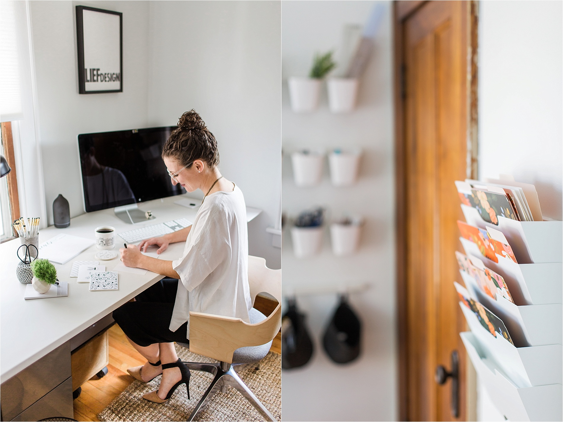home office studio. Emilie Brand Stories LIEF Design Home Office Studio Tour By Tifani Lyn_0006