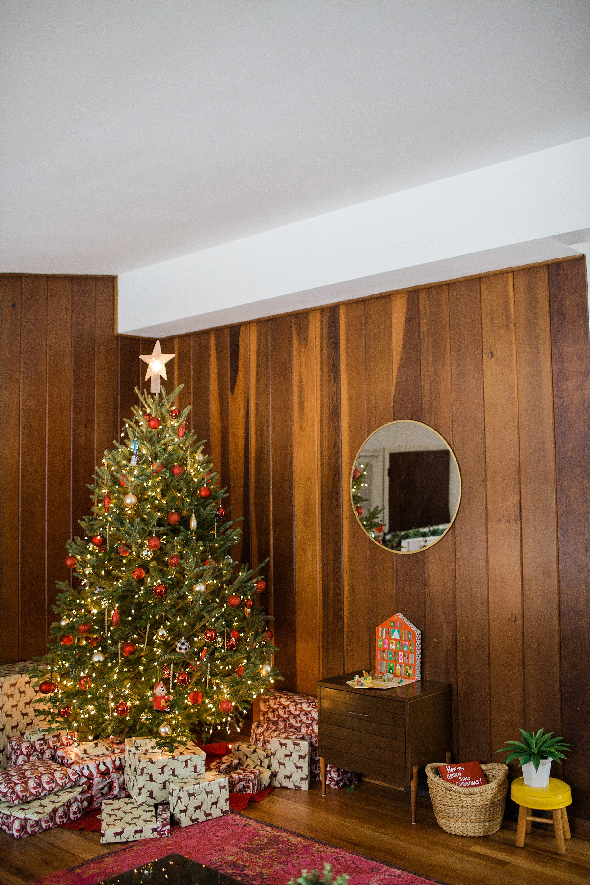 West Elm Christmas.Christmas At The Hect Haus Mid Century Modern Home